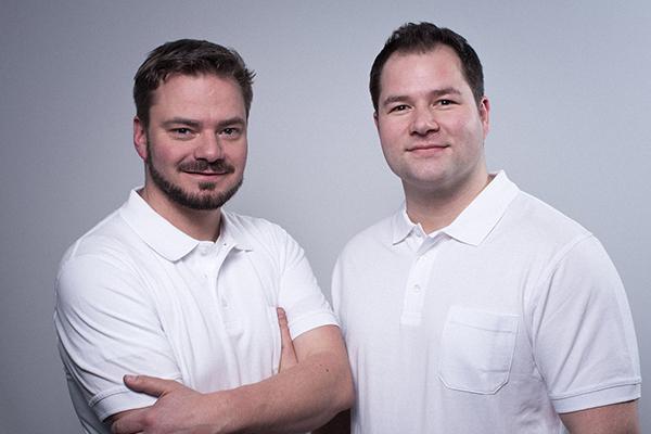 bild thoma und pfeiffer dentaltechnik gmbh zahntechnikermeister alexander pfeiffer robin thoma